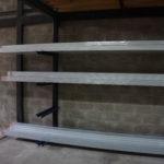 Vidrios y perfiles de aluminio